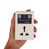 EU 220V Phone RC Remote Wireless Control Smart Switch GSM Socket Cellphone Power Plug Household Appliance Interruptor Switches