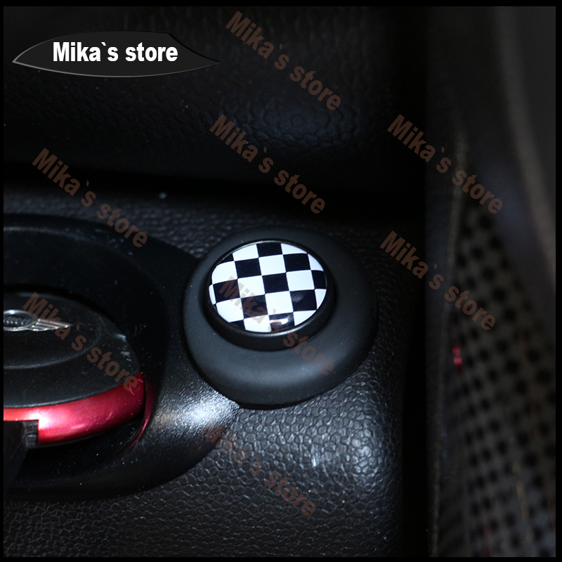 Engine Start Button Cover For 2nd Gen MINI Cooper ONE Coutryman Clubman R56 R61