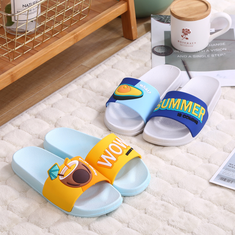 2020 Women Slippers Fashion Summer Lovely Ladies Casual Slip On Fruit Jelly Beach Flip Flops Slides Woman Indoor Shoes TUX43