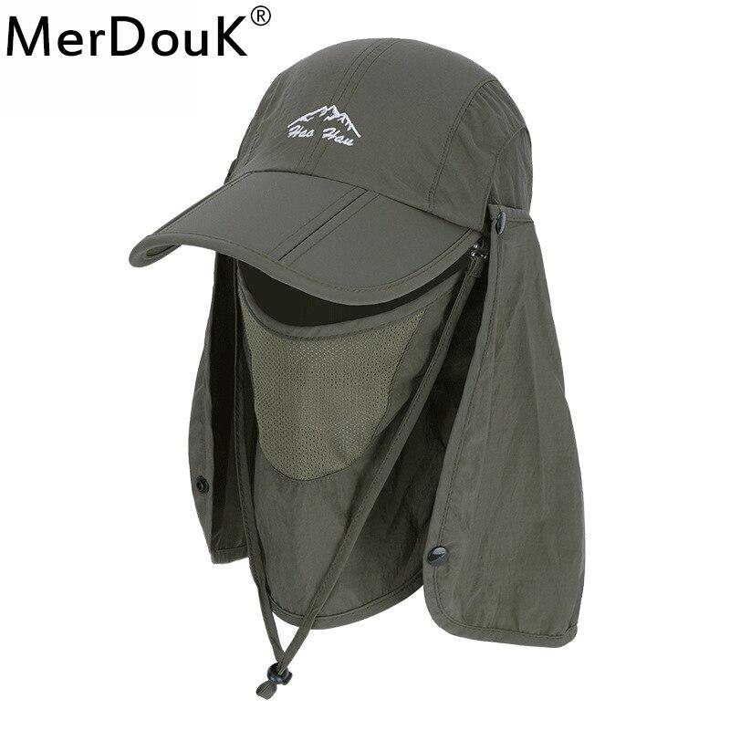 e5359045b Sun Caps Flap Hats UV 360 Solar Protection UPF 50+ Removable Foldable  Neck&Face Flap Cover