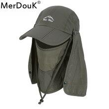 e673d504a8c Sun Caps Flap Hats UV 360 Solar Protection UPF 50+ Removable Foldable  Neck Face Flap Cover