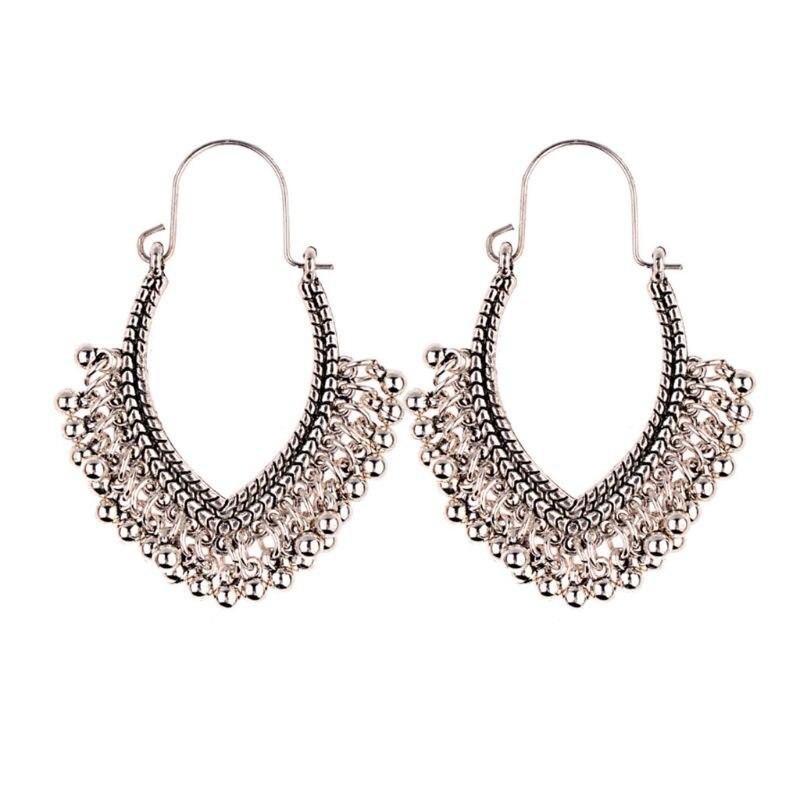 1 Paar Bohemen Oorbellen Boho Stijl Vintage Etnische Fashion Kralen Hanger Kwastje Dangle Vrouwen Geschenken Decoratie Ideaal Cadeau Voor Alle Gelegenheden