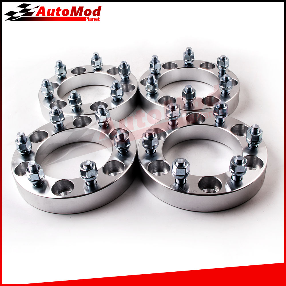 30mm Wheel Spacers Adapters 6x5.5 M12x1.5mm for Toyota Hilux Landcruiser Pickup for Mitsubishi Montero  Isuzu 4 PCS