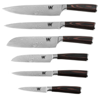 Damascus Style Knife 8 Chef 8 Slicing 7 5 Japanese Cook S 5 Utility 3 5
