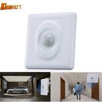 HGhomeart IR Motion Sensor 220 V Led Light Switch Module Body Auto On Off Lights Lamps