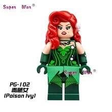 1PCS star wars superhero marvel Batman Movie Poison Ivy building blocks action  sets model bricks toys for children