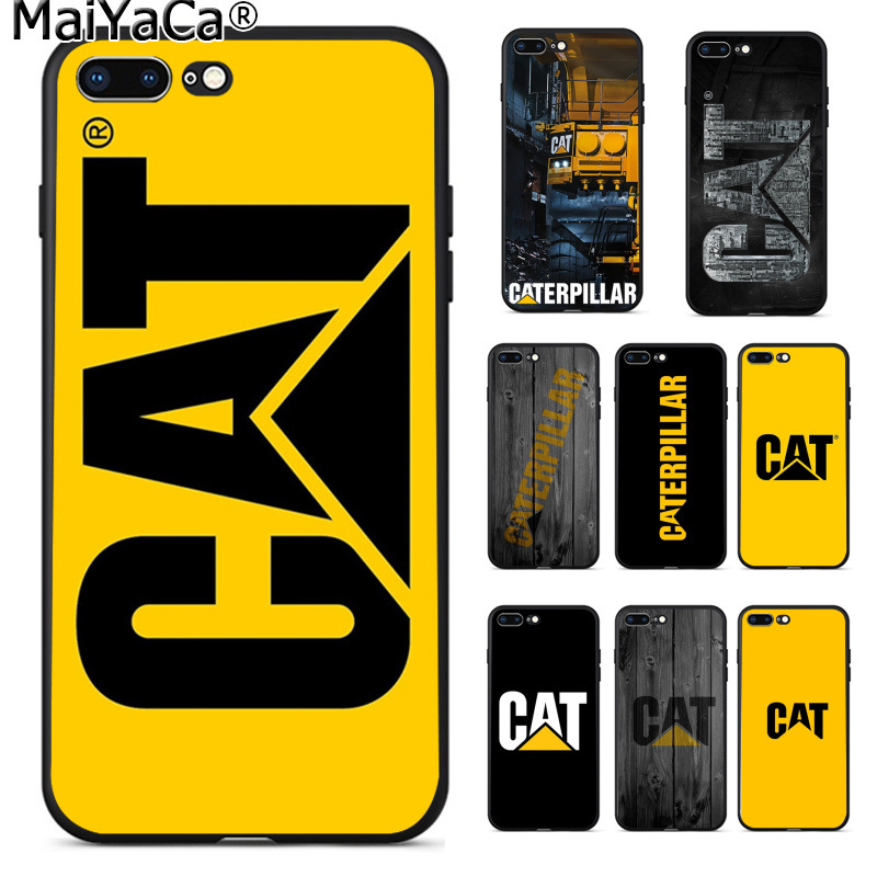 MaiYaCa Caterpillar logo New Arrived High Quality Luxury phone case for Apple iPhone 8 7 6