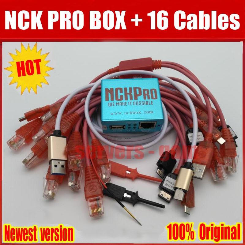 2019 Nouvelle version D'origine NCK Pro Boîte NCK Pro 2 boîte (soutien NCK + UMT 2 dans 1) nouvelle mise à jour Pour Huawei Y3, Y5, Y6 + 16 câbles