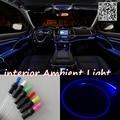 Para SEAT LEON 1 M 1 P 1998-2012 Mk3 Interior Do Carro Ambiente iluminação Do Painel de luz Para O Carro Dentro Luz Fria de Fibra Óptica banda