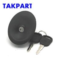 TAKPART PARA FORD TRANSIT TURBO MK4  MK5 1991-2000 TECLAS de BLOQUEIO DO TANQUE de COMBUSTÍVEL CAP TAMPA + 2 3966745