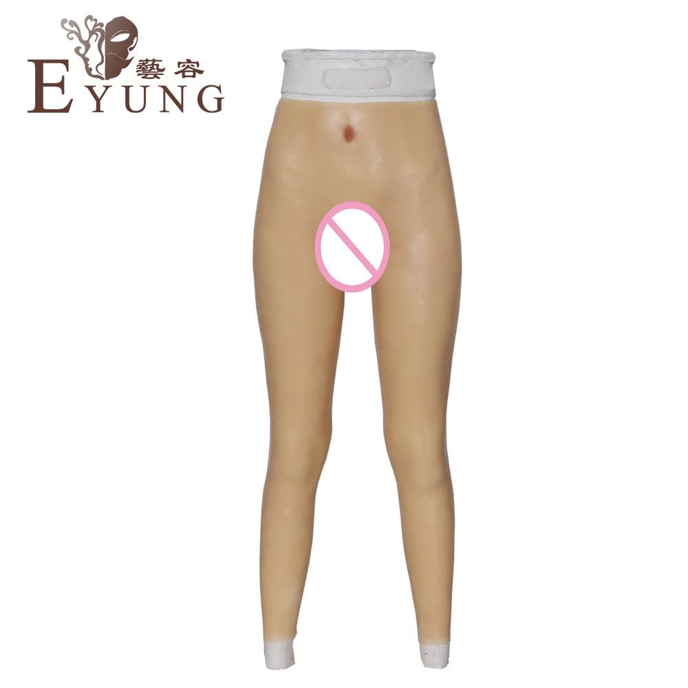 B143 2 crossdressing pants transgender Artificial Fake Vagina for crossdresser Underwear drag queen shemale ladyboy false pussy