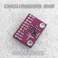 CJMCU LSM6DS0TR + 3 3 eixos acelerômetro giroscópio eixo 6 eixos inercial sensor 6DOF módulo