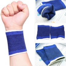 Hot Selling 1 Pair Wrist Protector weight lifting training wrist support cotton wraps GYM Wrist Support
