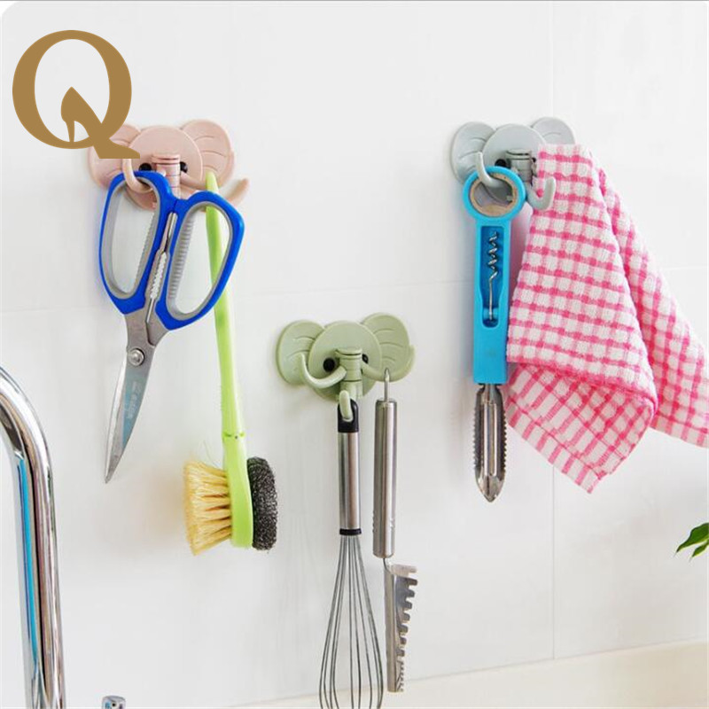 Latest Kitchen Tools Part - 43: 2017 The Latest Bathroom Kitchen With No Hook, Multi - Functional, Strong  Adhesive, No Trace Wall Hook, Kitchen Tool