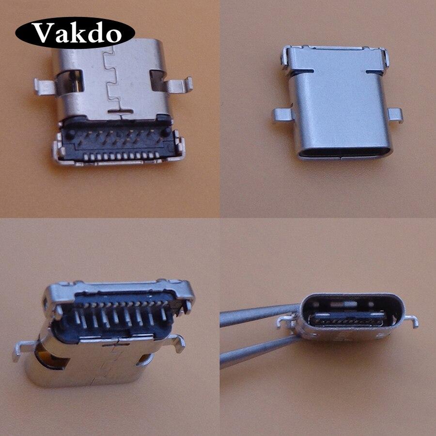 2pcs Type-c Micro Mini Usb Connector Jack Socket Charging Port Replacement Repair Parts For UMI PLUS