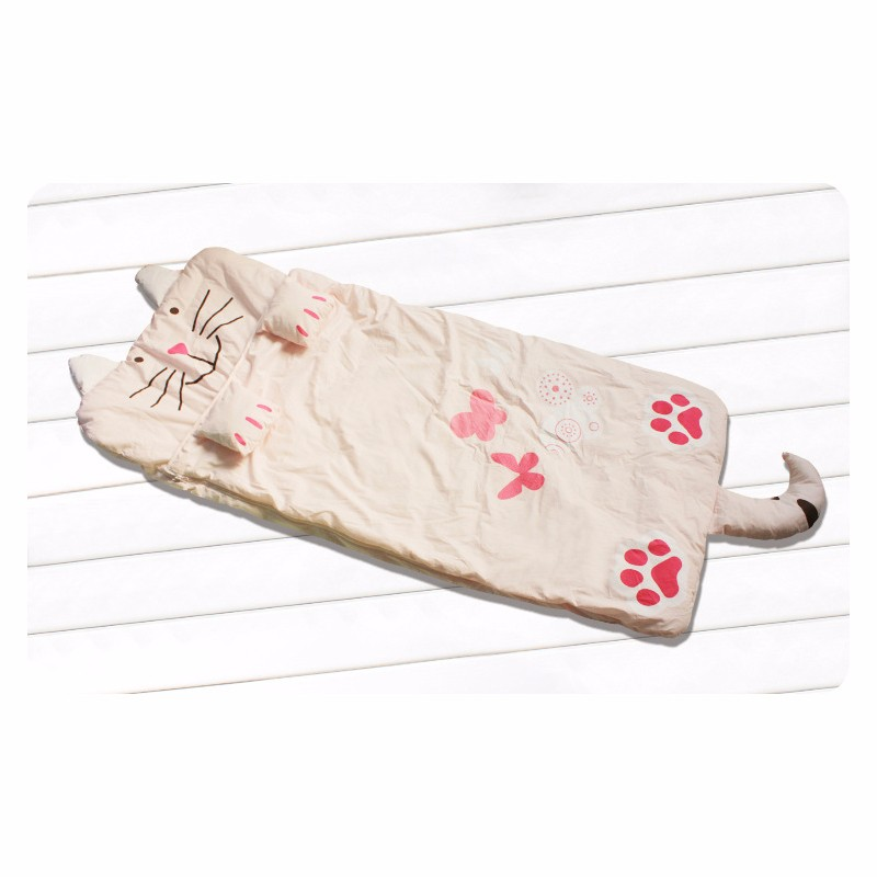 Baby Sleeping Bag Newborn Cotton Sleeping Bags Autumn Blanket Infant Coveralls New Cat Toddler Clothes Spring Anti Tipi Blankets (2)