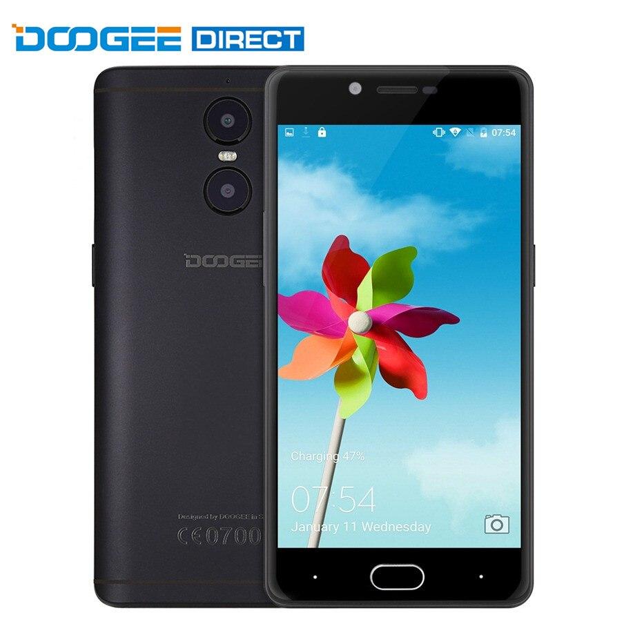 Цена за Оригинал Doogee Стрелять 1 4 Г Phablet Android 6.0 Смартфон 5.5 inch MTK6737 1.5 ГГц Quad Core 2 ГБ + 16 ГБ 8.0MP 13.0MP Сзади камеры