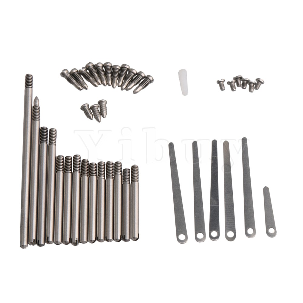 Yibuy DIY Clarinet Repair Tool Kit Maintenance Parts Screws Kit Spring Leaf Woodwind Instrument Accessory Type D used original 90% adf maintenance kit 525mfp for hp575 725 775 7500 adf maintenance kit