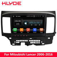 KLYDE 10.1 IPS 4G Octa Core PX5 Android 8 4GB RAM 32GB ROM BT Car DVD Multimedia Player Stereo For Mitsubishi Lancer 2006 2016