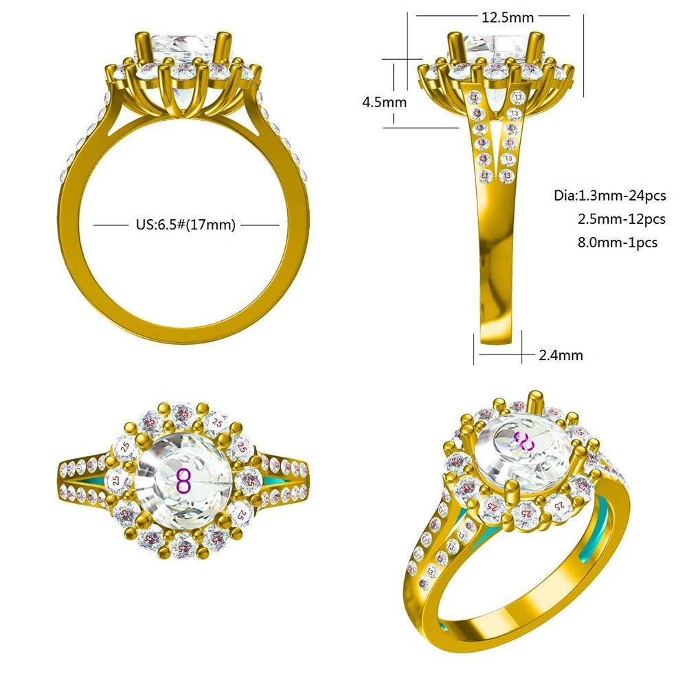 Round Brilliant Cut 0.5ct Carat 5.0mm F Color Moissanite Loose Stone VVS1 Excellent Cut Grade Test Positive Lab Diamond