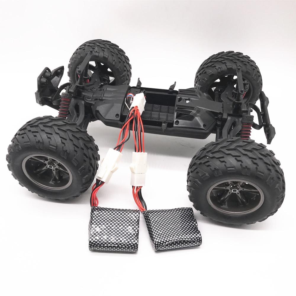 Original 9115 9116 S911 S912 RC Car Upgrade To Double Battery 9.6V 1600mah (2*800mah ) Spare Parts 9.6V 800mah Li-ion Battery