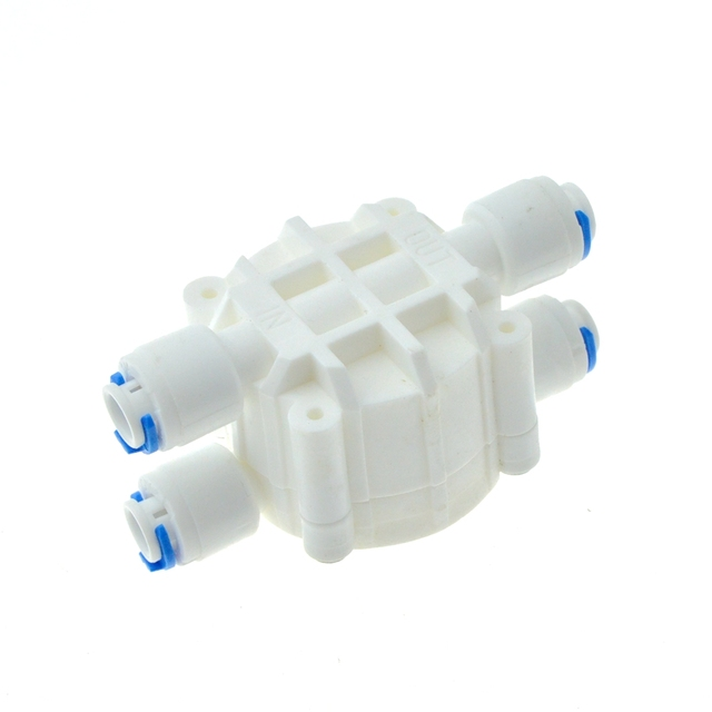 Reverse osmosis ro 4 way valve 14 od hose quick connection reverse osmosis ro 4 way valve 14 od hose quick connection diaphragm valve ccuart Gallery