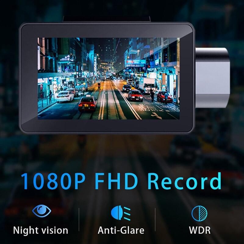 Phisung K9 dash cam pro 3G Auto DVR mit Android GPS log Dual Objektiv 1080 p dash kamera WIFI auto cam Video Kanzler drive recorder - 3