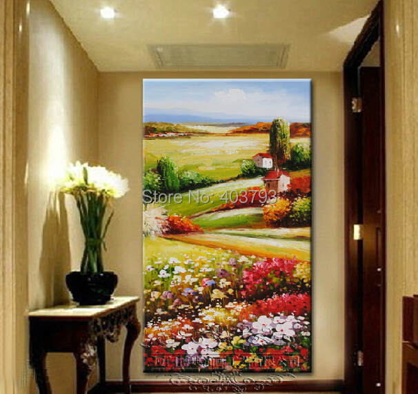 Aliexpress.com : Buy hand painted MODERN ABSTRACT HUGE LARGE CANVAS ...