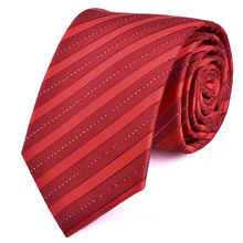 Man S New Clic Ties 7cm Striped Polyester Woven Black Blue Red Orange Tie Business Wedding Party