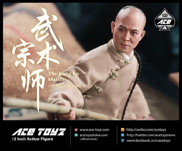 1/6th ACE TOYZ AT-006 Fung Fu Master Jet Li Wong Fei-hung Action Figure