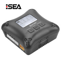 HTRC H4AC DUO Balance Charger 20W *2 2A*2 Dual Channal Professional Mini Battery Charger for 2 4s Lipo Battery Charging
