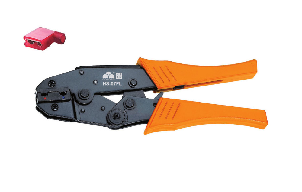 Ratchet crimping plier 0.5-2.5mm2  AWG20-14 terminals crimping tools  multi crimping pliers(EUROPEAN STYLE))  цены