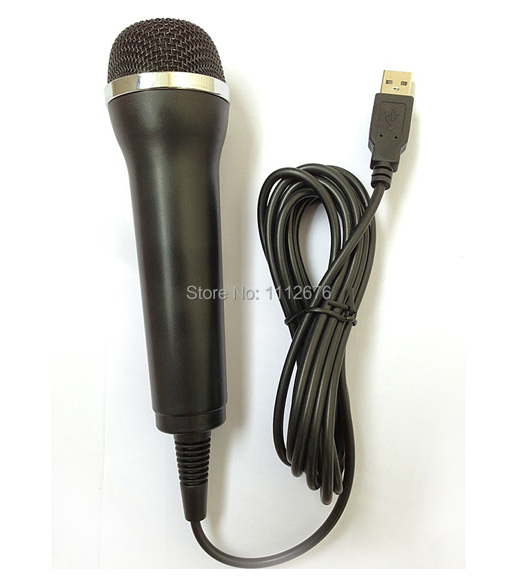mu006 guitar hero games rock band usb microphone for computer pc wii xbox 360 ps2 ps3 mic. Black Bedroom Furniture Sets. Home Design Ideas