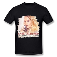 046c8223 2019 funny t shirts Carrie Underwood The Storyteller Tour 2016 T Shirt for  Men Short Sleeve