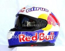 wholesale HJC Moto Racing Helmets Cirus HS800 double lenses full face Motorcycle helmet motocross motorbike helmet ABS
