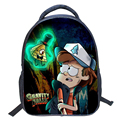 New Cartoon Gravity Falls Little Children Backpacks Kindergarten School Bags Printing Backpack for Girls Boys Mochila Infantil