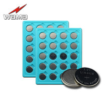 40pcs/2pack Wama New Li-ion Rechargeable LIR2016 Button Cell Battery Replace Remote CR2016 3.6V Coin Batteries Drop Shipping