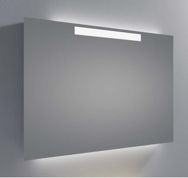 Новинка, настенный светодиодный зеркало с подсветкой для ванной комнаты с датчиком и запотевшей подушечкой