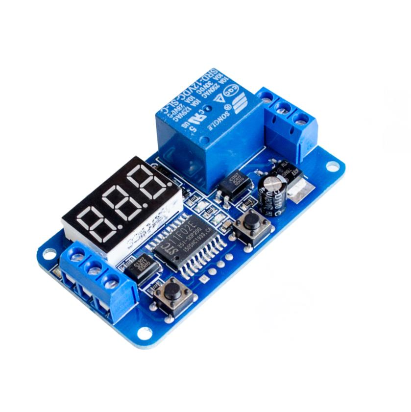 12V Digital LED Display Home Automation Delay Timer Control Switch Relay Module