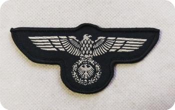 Naszywka z niemieckiej marynarki wojennej tanie i dobre opinie Odzież akcesoria Zwykły haft krzyżykowy haft PAPER BAG Chiński styl Portret Składane Bawełna