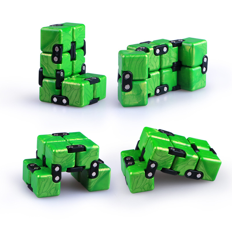 QiYi Infinite Magic Cube Puzzle Toy DIY Anti Stress Relax Toy For Adults Endless Cube Toys For Children 6 Years Old