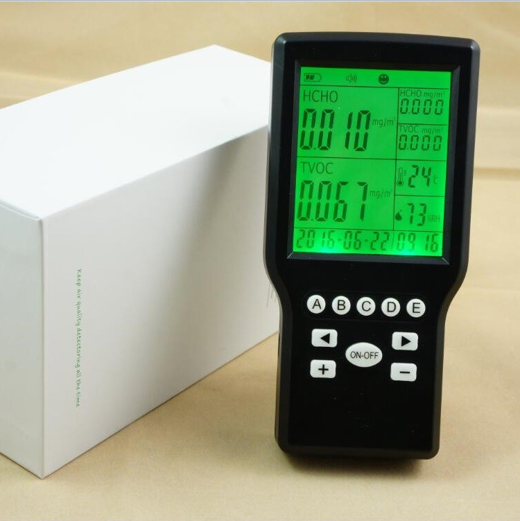 free shipping Multi IAQ Monitor (formaldehyde+TVOC+Temperature+Relative Humidity) buy multi monitor