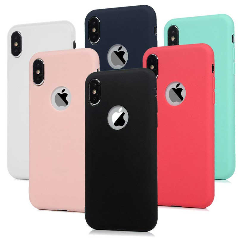 Fashion Soft Silicone Candy Pudding Cover For iPhone X 11 Pro Max 8 7 6 6S Plus Xr Xs Max Case Flexible Gel Phone Protector case