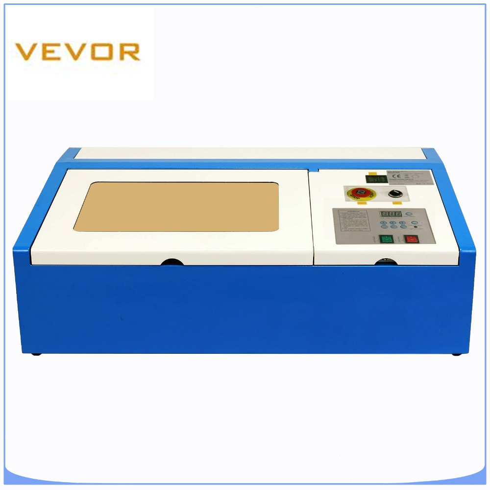 Laser Cutter 40W CO2 Laser Engraving Cutting Machine Wood Engraver Leather Cutter 300X200MM