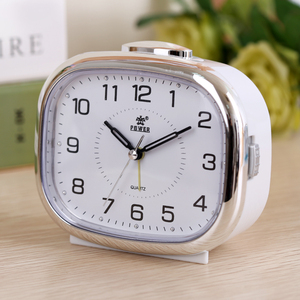 Image 4 - Small night lamp bedside alarm clock music creative personality of students are lazy children bedroom modern square table
