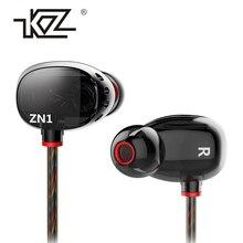 Наушники KZ ZN1 в наушники интерактивные с микрофоном высокого класса мобильный меломанам значение Q Гарнитура ухо Fone де ouvido