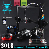 Cheap TEVO Tarantula I3 Aluminium Extrusion 3D Printer kit printer 3d printing 2 Rolls Filament 512MB SD card LCD As Gift