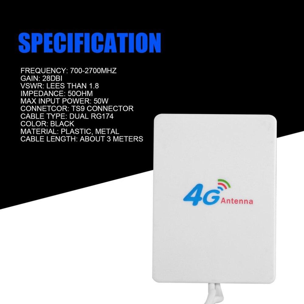 3 mt Kabel 3g 4g LTE Antenne High Gain für Huawei LTE Modem Router TS9 Connettore Wasserdichte Band mit Dual RG174 4g antenne