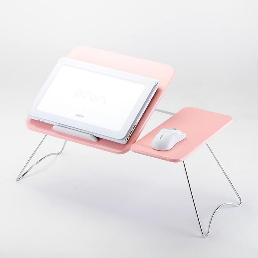 SUFEILE Hot sale high quality Anti slip Portable Folding Computer Desk Stand Lap Sofa Bed Table Work Laptop Tray SE21
