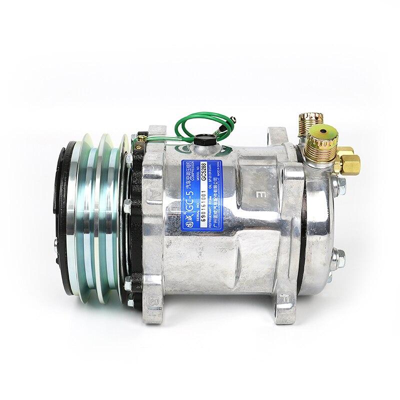 Automobile climatisation 508 compresseur assemblage pelle pompe à air modifié accessoires universels 12 V/24 V Y